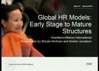 Global HR Models: Early Stage to Mature Structures for Greater Impact