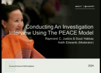 Conducting an Investigation Interview Using the PEACE Model