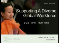 Supporting a Diverse Global Workforce: LGBT and Travel Risk