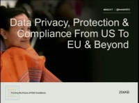 Data Privacy, Protection & Compliance from US to EU & Beyond